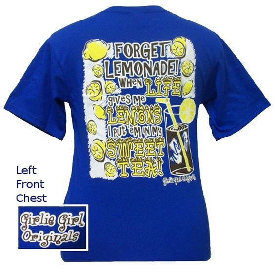 Girlie Girl Original T's Lemonade $16.95