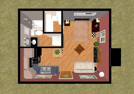 Tiny House Floor Plans Small Cabins Tiny Houses Small: Tiny House Floor Plans 10x12 - Google Search