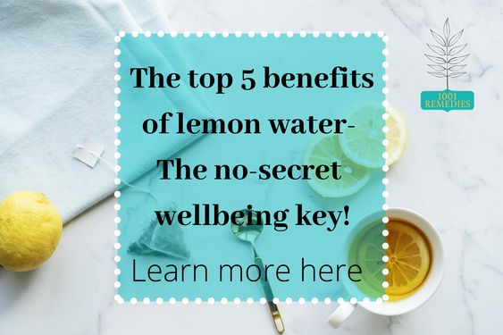 Lemon water benefits 79882