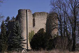 Donjon de Jouy --  Région Centre-Val de Loire   Département Cher   Commune Sancoins
