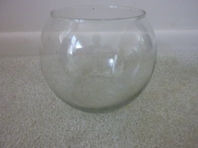 Borrow glass fishbowls from AGU and possibly tables/chairs, too.