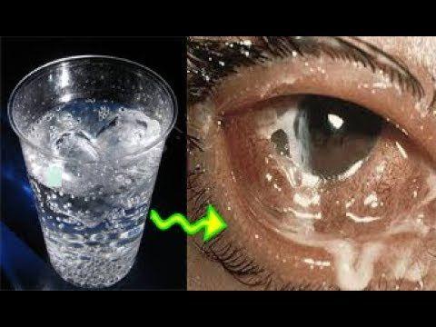 لن تصدقوا معجزة الماء للقضاء على ضعف النظر نهائيا وصفة تقضي على ضعف النظ Shot Glass Glassware Glass