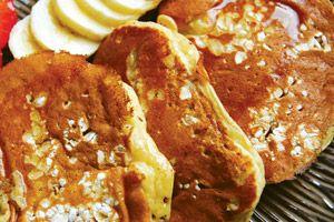 OMG (Oh My WOW) Banana Oatmeal Pancakes