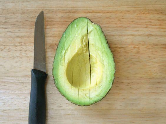 How to Slice an Avocado - Slice