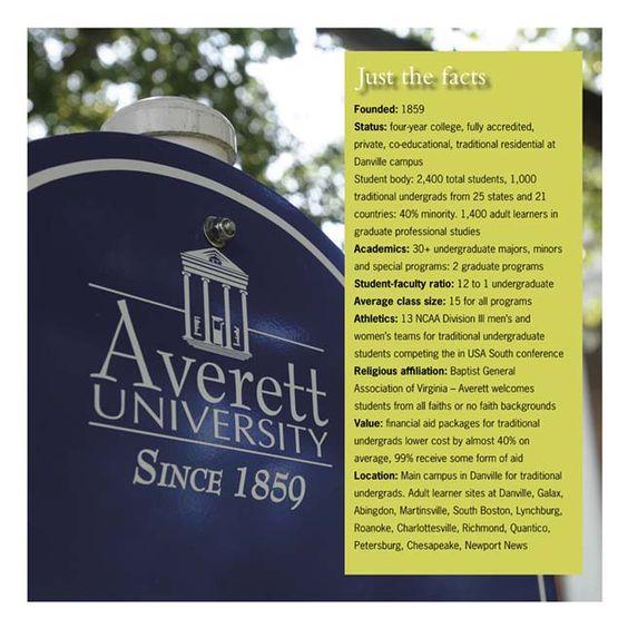 Averett University ~ Danville, Virginia