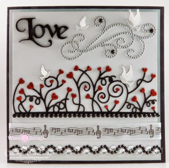 Love Bird Card by Candy S. - Cards and Paper Crafts at Splitcoaststampers