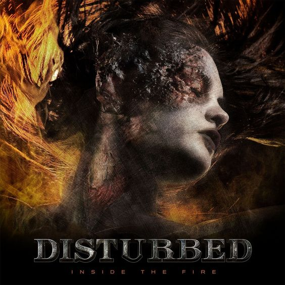 Disturbed – Inside the Fire (single cover art)