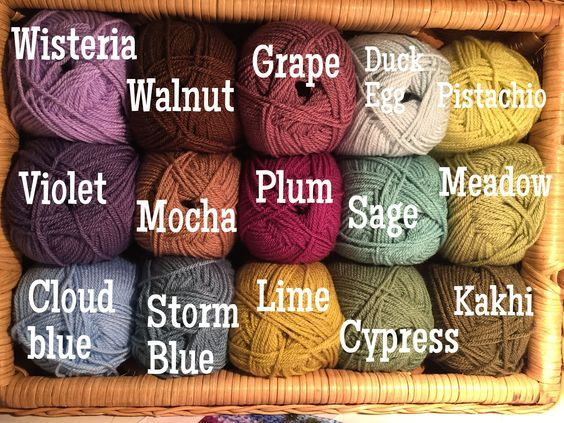 Pin By Aysenur Demirel On Color Combinations Yarn Color Combinations Yarn Colors Attic 24 Crochet