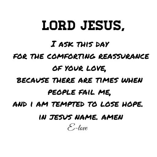 Prayer for today!