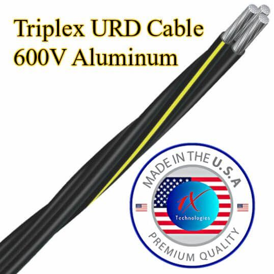 Triplex Urd Cable 600v Direct Burial Underground Service Cable Triplex Cable Technology