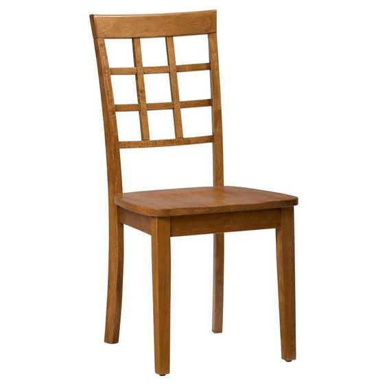 Simplicity Grid Back Dining Chair -