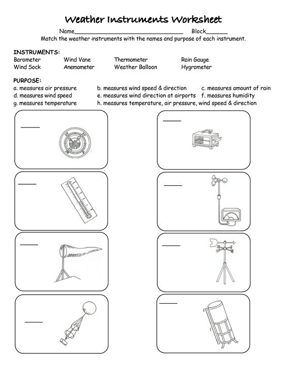 weather instruments worksheets free worksheets library download and print worksheets free on. Black Bedroom Furniture Sets. Home Design Ideas