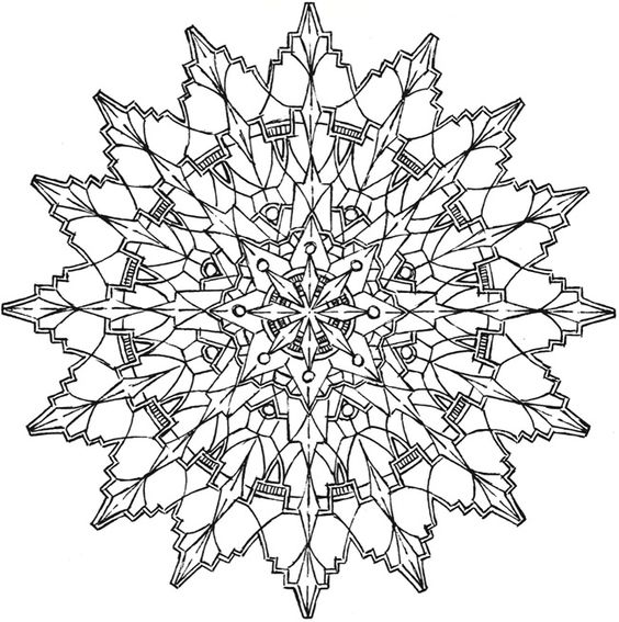 kaleidoscope coloring pages pdf - kaleidoscope designs coloring pages pinterest