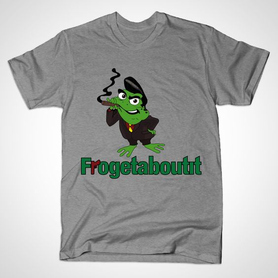 Frogetaboutit T-shirt by Inner Coma Clothing Co.