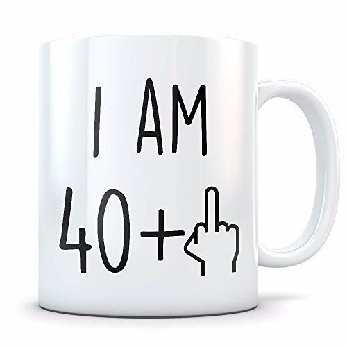 Funny 41st Birthday Gift For Women And Men Turning 41 Years Old Happy Bday Coffe 41st Bday Birth 41st Birthday 41 Birthday Gifts Birthday Gifts For Women