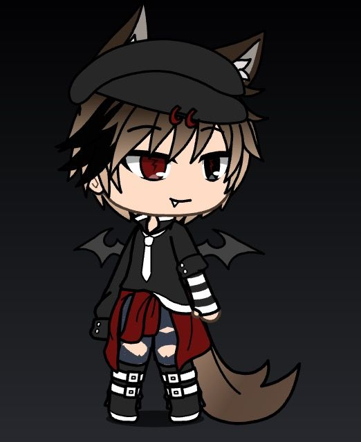 Bad Boy Anime Wolf Girl Cute Anime Character Cute Anime Chibi