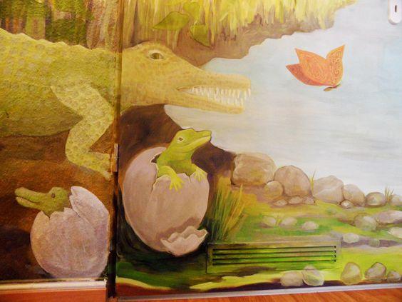 Wandbilder und Wandmalerei im Kinderzimmer - Wandgestaltung Berlin