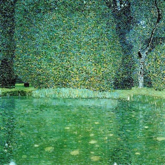 Gustav Klimt(1862ー1918)「Pond at Schloss Kammer on the Attersee」: