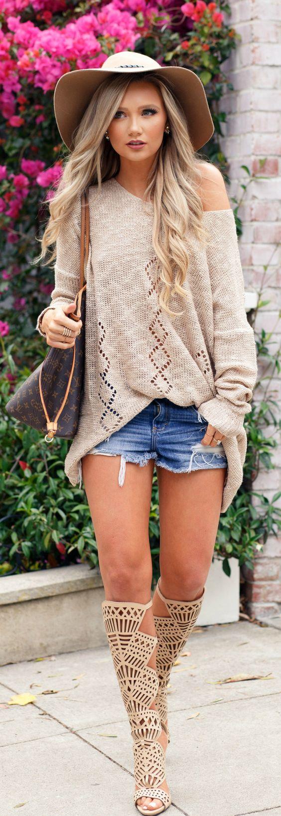 Fall Knits // Fashion Look by Stephanie Danielle