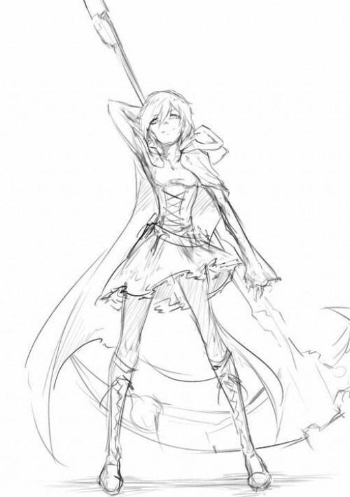 Character Pose Dawn Anime Anime Sketch Art Reference Art Reference Poses Art Sketches