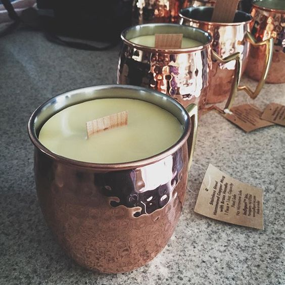 """""""citronella, eucalyptus and cedarwood candles, handmade with love by my husband...he's way better at this oil making than I am. #voodooessentialoils """" Photo taken by @sarahhill920 on Instagram, pinned via the InstaPin iOS App! http://www.instapinapp.com (07/15/2015)"""