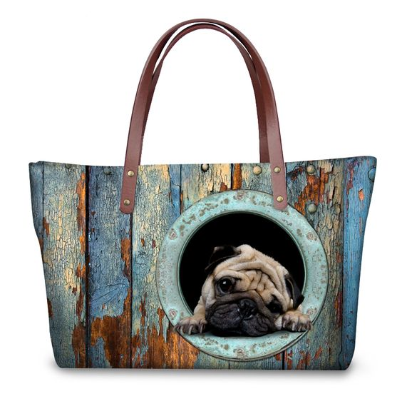 3D Animal Tote, 6 Images