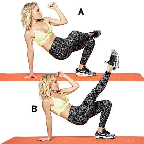 Ab Exercises to Define Your Waistt. Shape up with Tracy Anderson. | Health.com