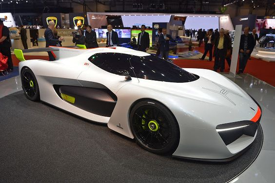 Pininfarina Are Making 10 Units Of The Bonkers H2 Speed Concept For $2.5m Each