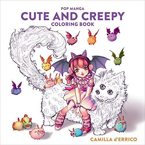 Download Pdf Pop Manga Cute And Creepy Coloring Book Free Epub Mobi Ebooks Coloring Books Manga Coloring Book Manga Cute