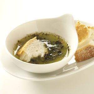 Herbed Garlic Dipping Oil Recipe from Taste of Home