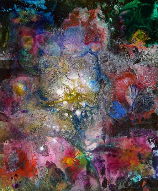 Abstract painting #11 by Ron Matzov.
