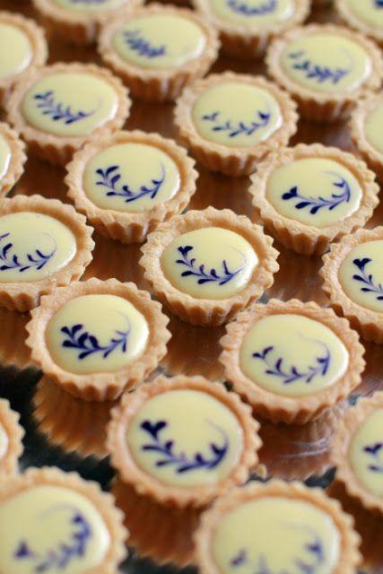 Blueberry Cheese Tart ~ we ❤ this! moncheribridals.com #weddingdesserts