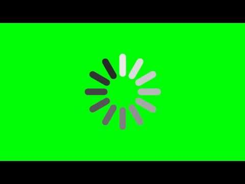 Loading Circle Green Screen Footage Free Download Youtube Green Screen Footage Greenscreen Green Screen Backgrounds