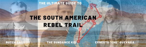 Butch Cassidy & The Sundance Kid and Che Guevara have in common a life on the run in South America. Follow their trail by bus.