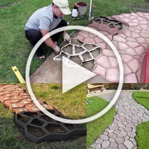 Description Get Creative With These Easy Diy Pavement Molds And