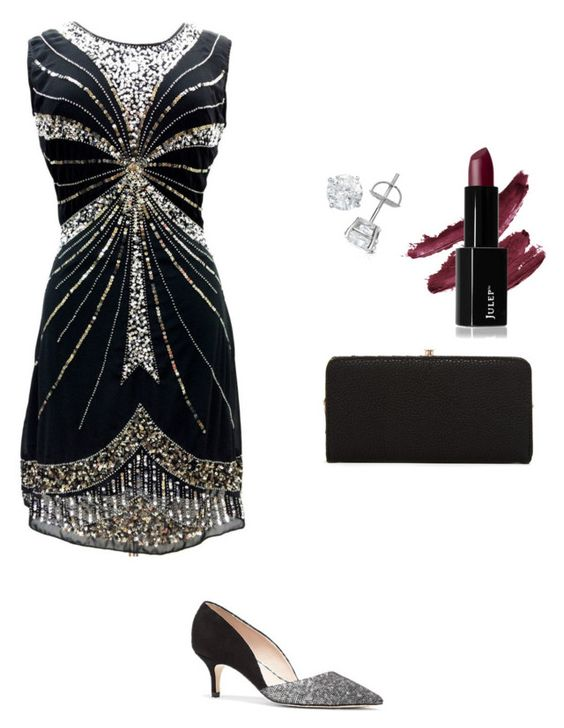 """""""Cindy going to the party"""" by maria-laura-correa-da-silva ❤ liked on Polyvore featuring Vince Camuto and Urban Expressions"""