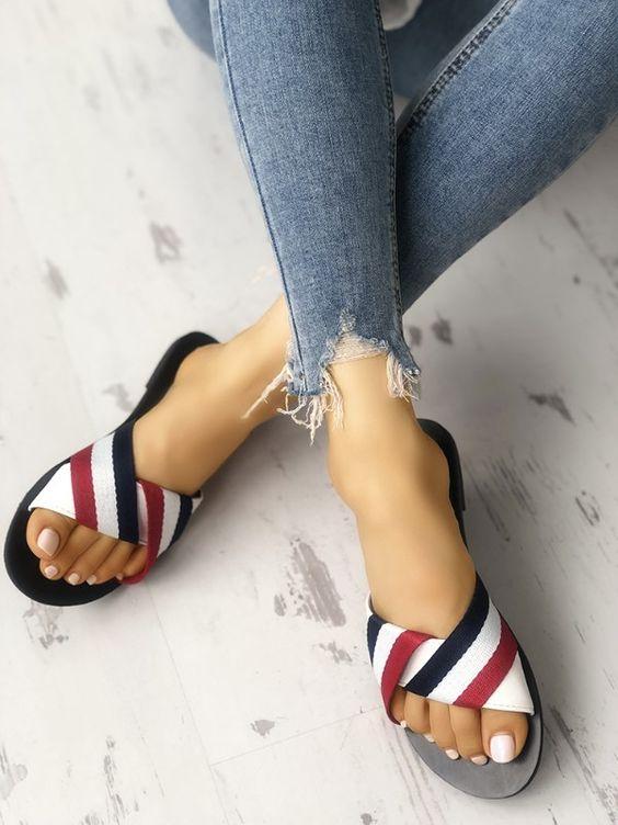 Adorable Summer Flat Sandals