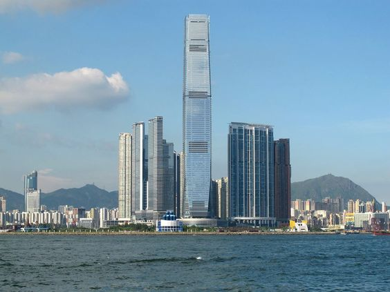 International Commerce Centre, Chiny: