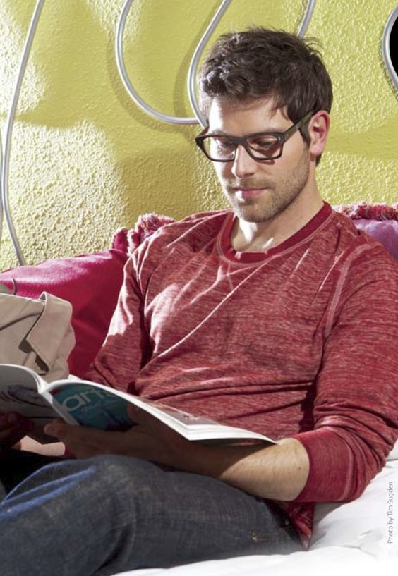 Um..stop it. David Giuntoli- He should wear these glasses all the time