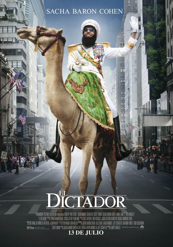 El Dictador 2012 Tt1645170 Esp C Peliculas En Linea Gratis El Dictador Peliculas De Comedia