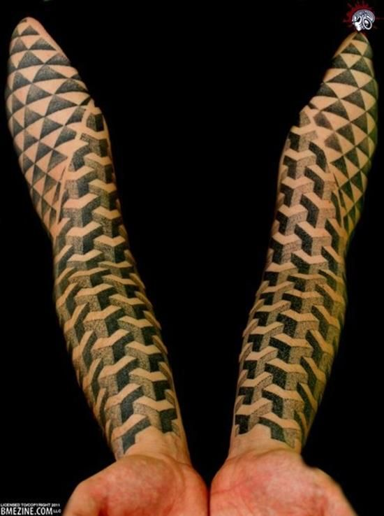150 Most Perfect Geometric Tattoos Meanings Nice
