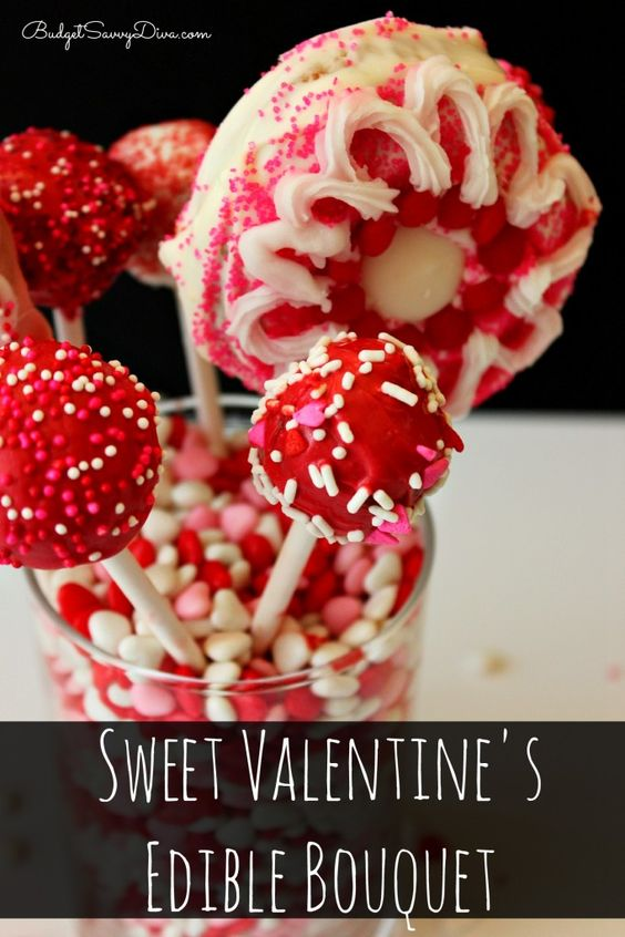 Sweet Valentine's Edible Bouquet Recipe #donuts #ediblebouquet #dessert #recipe #budgetsavvydiva budgetsavvydiva.com