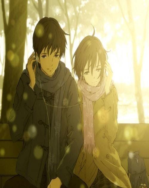 Cute Anime Couple Phone Wallpaper Hd Di 2020