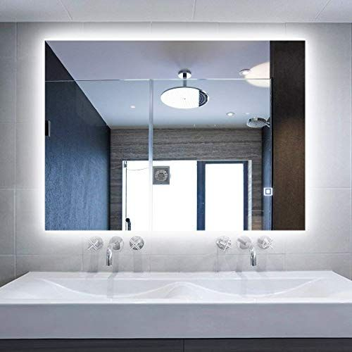 Led Backlit Mirror Illuminated Bathroom