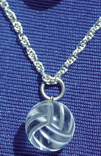 volleyball necklace that i really want!