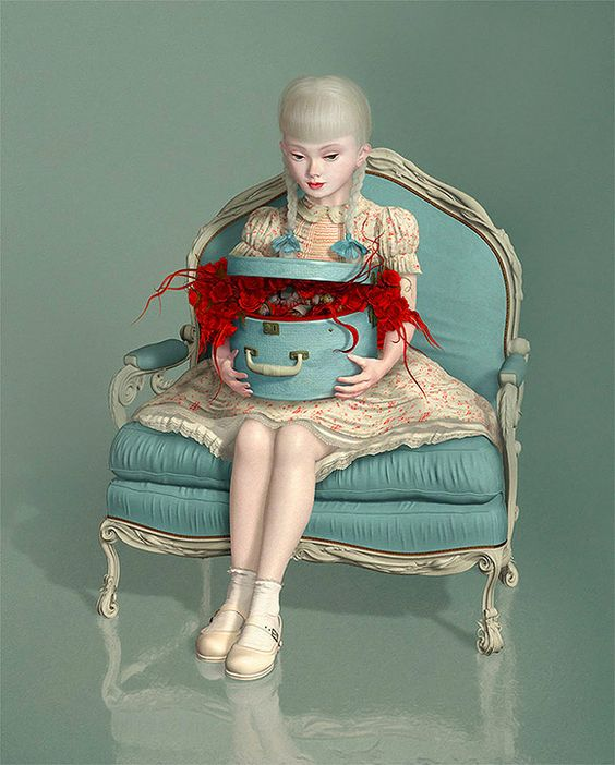 Ray Caesar, Keepsake - 10th Anniversary Exhibition, Corey Helford Gallery