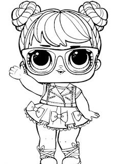Little Lids Siobhan Lol Doll Colouring Pages Lol Dolls Coloring Pictures Cool Coloring Pages