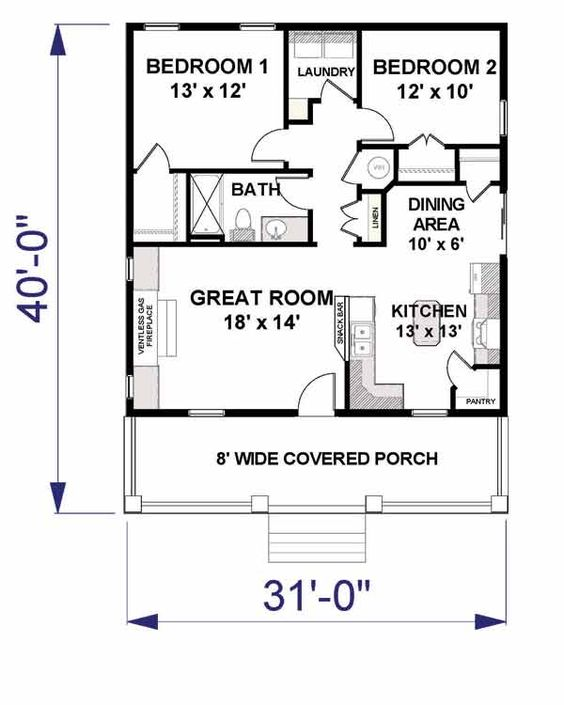 Terrific Small House Floorplans Google Search Tiny Homestead Largest Home Design Picture Inspirations Pitcheantrous