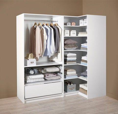 Caisson H 200 X L 100 Cm H 200 X P 58 Cm Progress Rangement Dressing Caisson Idees Pour La Maison