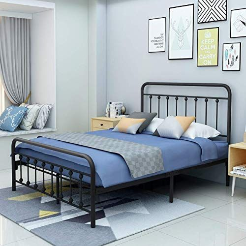 Enjoy Exclusive For Yollen Metal Bed Frame Full Size Victorian